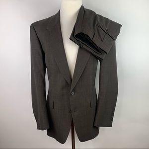 Hart Schaffner Marx Ariel Worsteds 40L Suit 33/32